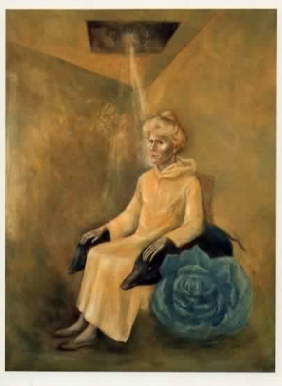 Anne Fremantle by Leonora Carrington, Oil on Canvas 1975