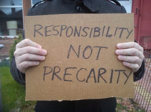 Responsibility not precarity