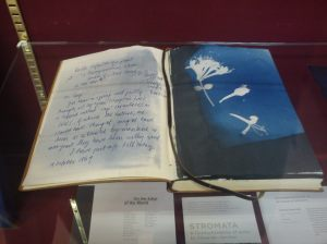 Alexander Hamilton's notebook.  Photo Chris Fremantle