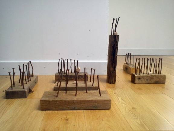 Simon Beenson's Building Walden, 2013, installed at home.