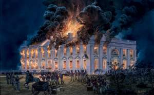 Burning of the White House by British forces, 1814