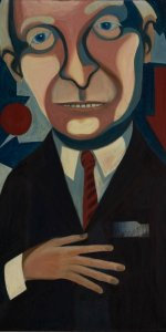 American People Series #6: Mr. Charlie, 1964 (from Faith Ringgold's website)